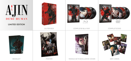 Ajin: Demi-Human Premium Box Set Contents