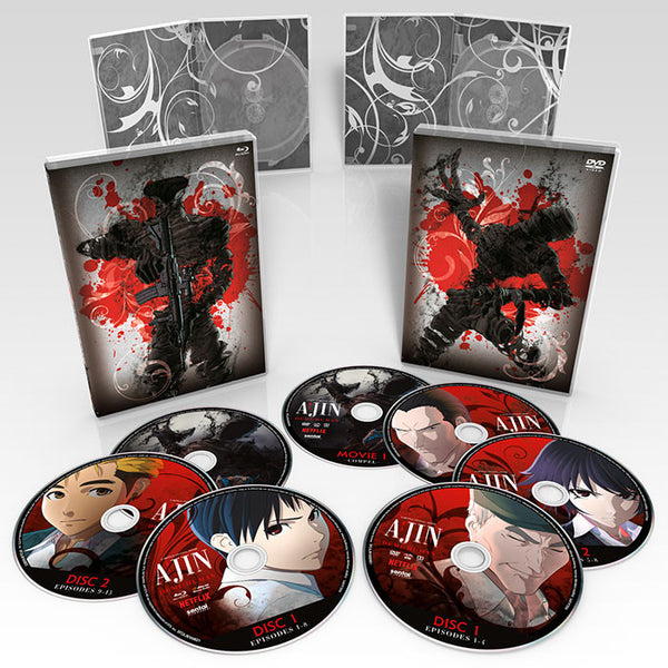Ajin: Demi-Human Premium Box Set Disc Spread