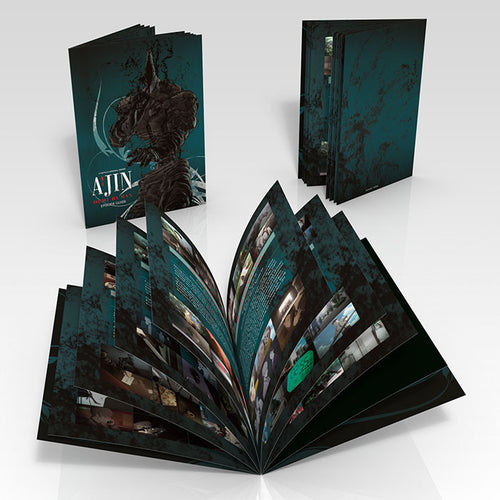 Ajin: Demi-Human Premium Box Set Booklet