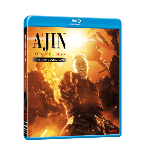 Ajin: Demi-Human OAD Collection Blu-ray Front Cover