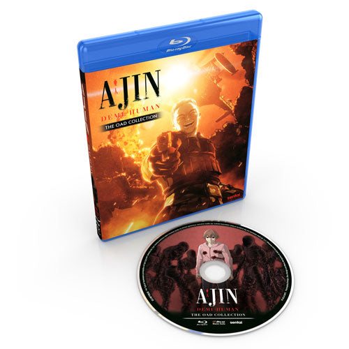 Ajin: Demi-Human OAD Collection Blu-ray Disc Spread