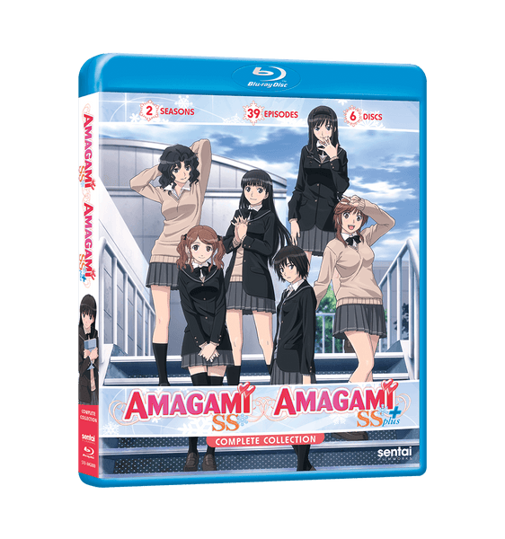 Amagami SS / Amagami SS Plus Complete Collection Blu-ray Front Cover