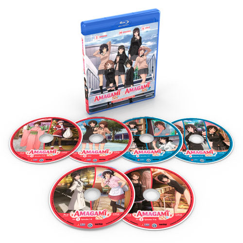 Amagami SS / Amagami SS Plus Complete Collection Blu-ray Disc Spread