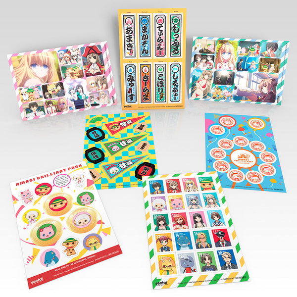 Amagi Brilliant Park Premium Box Set