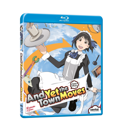 And Yet the Town Moves Complete Collection Blu-ray Front Cover