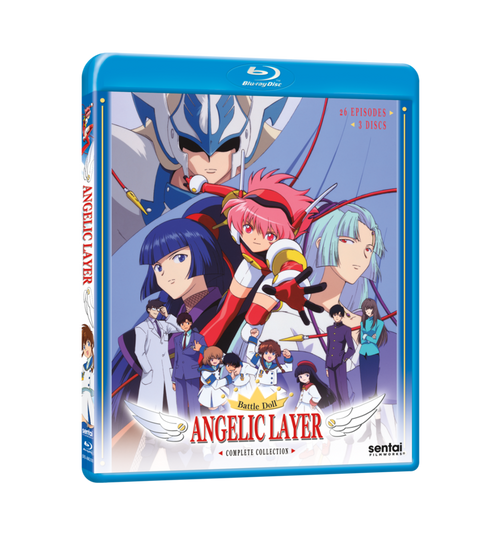 Angelic Layer Complete Collection Blu-ray Front Cover