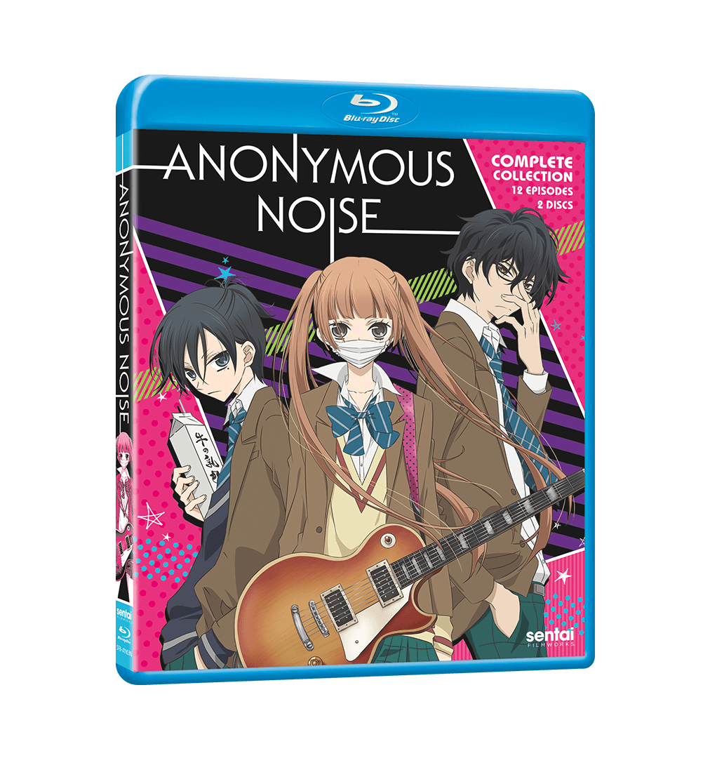 Anonymous Noise Complete Collection Blu-ray Front Cover