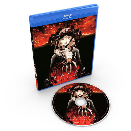 Aragne: Sign of Vermillion Blu-ray Disc Spread