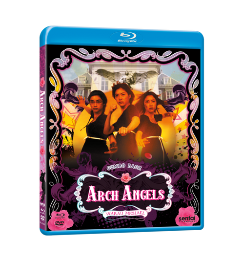 Arch Angels Blu-ray Front Cover