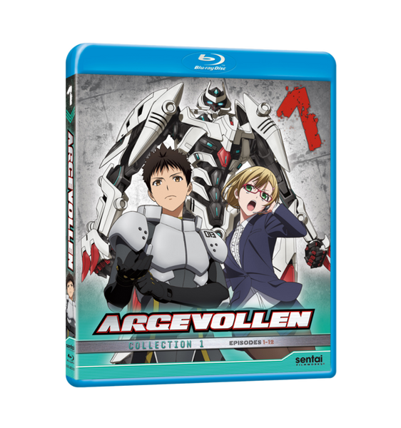 Argevollen Collection 1 Blu-ray Front Cover