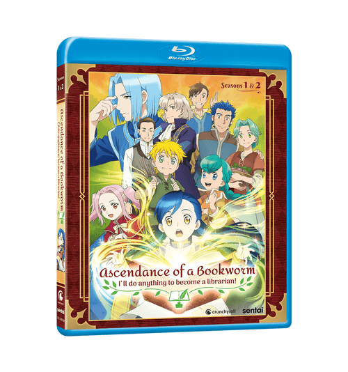 Ascendance of a Bookworm Complete Collection Blu-ray Front Cover
