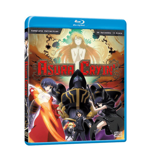Asura Cryin' Complete Collection Blu-ray Front Cover