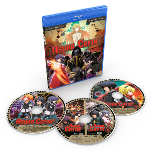 Asura Cryin' Complete Collection Blu-ray Disc Spread