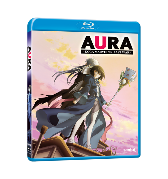Aura Blu-ray Front Cover