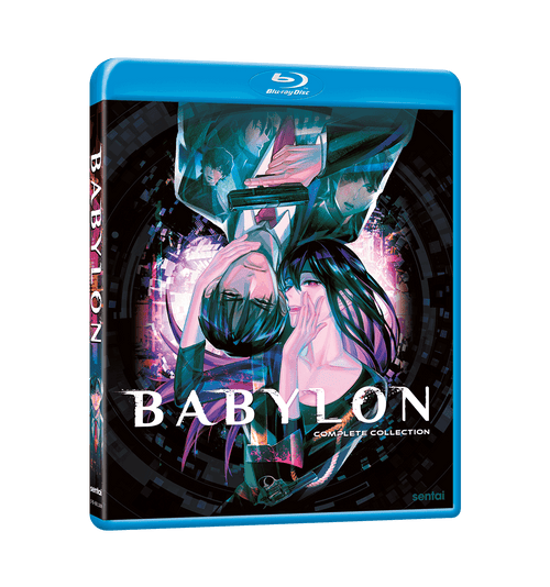 Babylon Complete Collection Blu-ray Front Cover