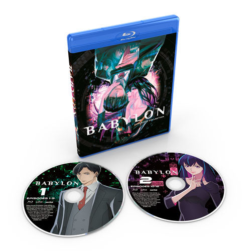 Babylon Complete Collection Blu-ray Disc Spread