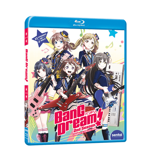 BanG Dream! 2nd Season Complete Collection Blu-ray Front Cover