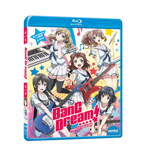 BanG Dream! Complete Collection Blu-ray Front Cover
