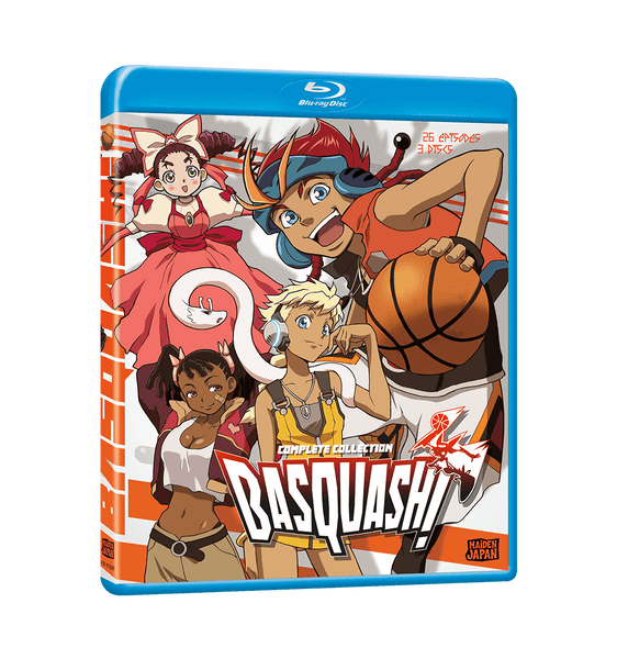 Basquash! Complete Collection Blu-ray Front Cover