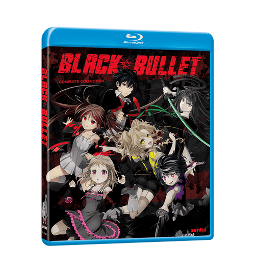 Black Bullet Complete Collection Blu-ray Front Cover