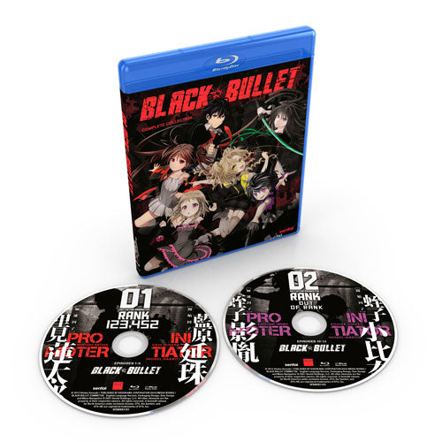 Black Bullet Complete Collection Blu-ray Disc Spread