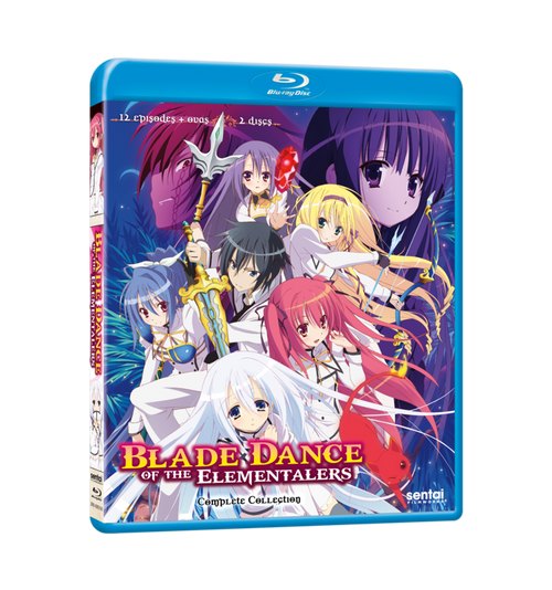 Blade Dance of the Elementalers Complete Collection Blu-ray Front Cover