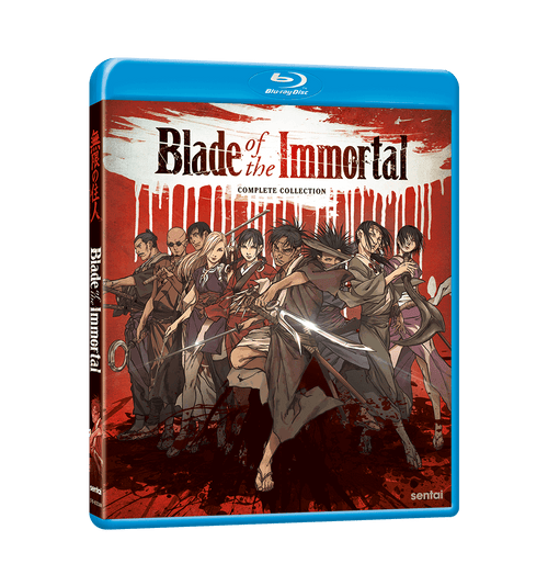 Blade of the Immortal Complete Collection Blu-ray Front Cover