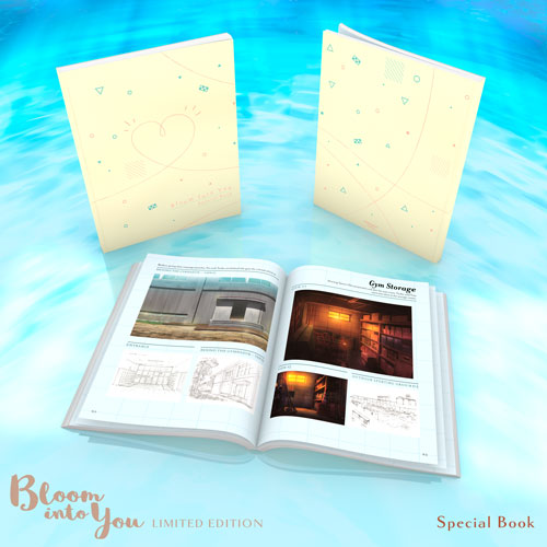 Bloom Into You Premium Box Set Special Book
