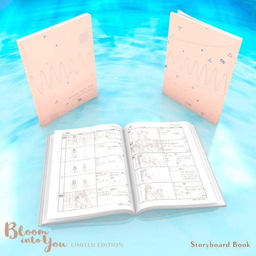 Bloom Into You Premium Box Set Storyboard Book