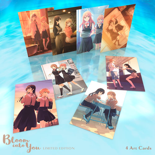 Bloom Into You Premium Box Set Art Cards