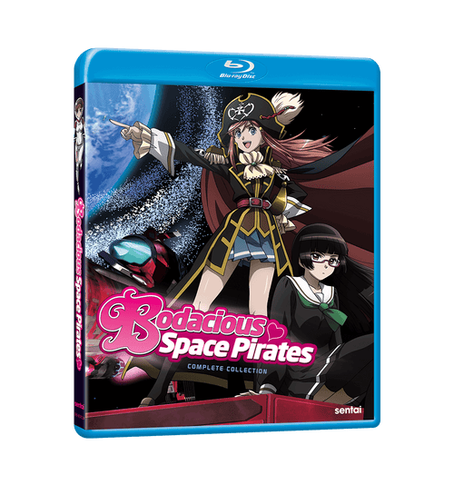 Bodacious Space Pirates Complete Collection Blu-ray Front Cover