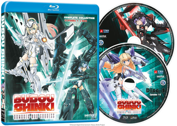 Busou Shinki Complete Collection Blu-ray Disc Spread
