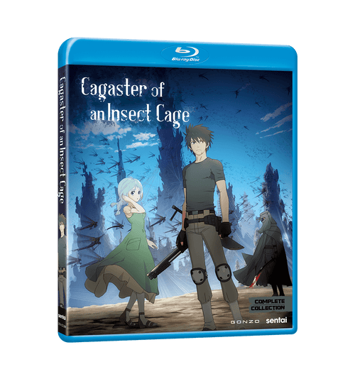 Cagaster of an Insect Cage Complete Collection Blu-ray Front Cover