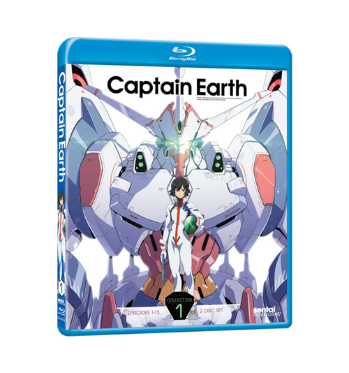 Captain Earth Collection 1 Blu-ray Front Cover
