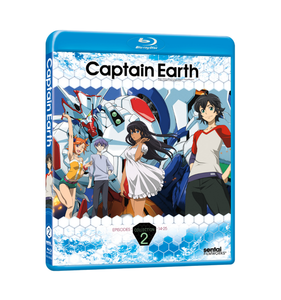 Captain Earth Collection 2 Blu-ray Front Cover
