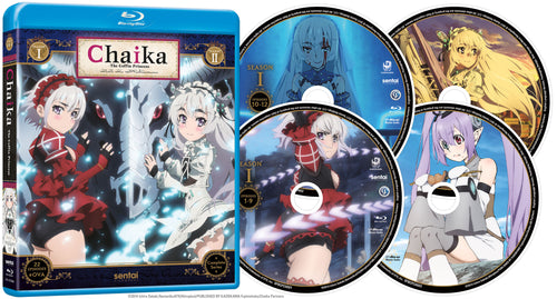 Chaika the Coffin Princess Complete Series Blu-ray Disc Spread