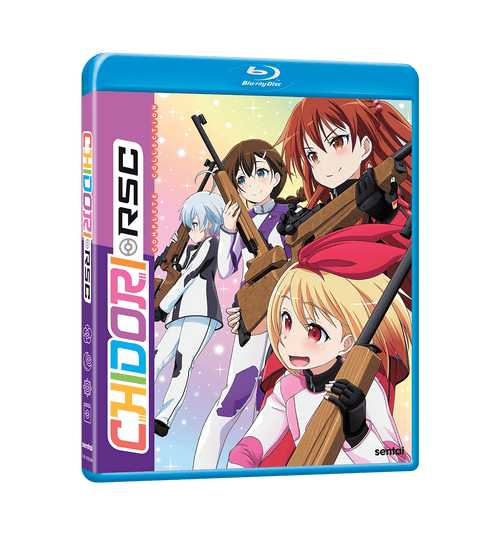 Chidori RSC Complete Collection Blu-ray Front Cover