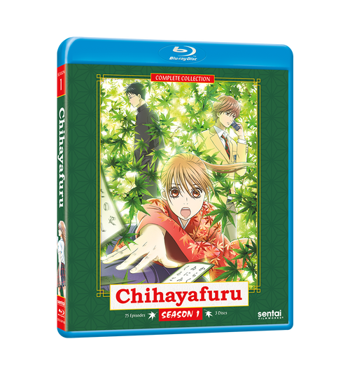 Chihayafuru Complete Collection Blu-ray Front Cover