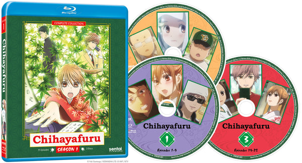 Chihayafuru Complete Collection Blu-ray Disc Spread