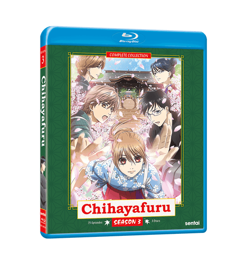 Chihayafuru Season 3 Complete Collection Blu-ray Front Cover