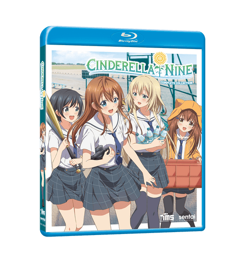 Cinderella Nine Complete Collection Blu-ray Front Cover