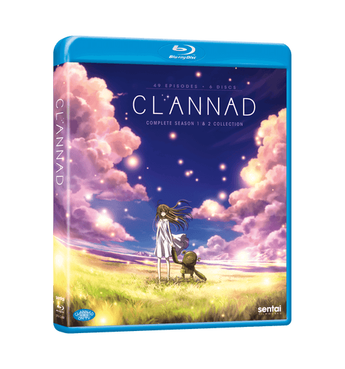 CLANNAD / CLANNAD AFTER STORY Complete Collection Blu-ray Front Cover