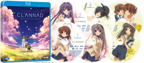 CLANNAD / CLANNAD AFTER STORY Complete Collection Blu-ray Disc Spread