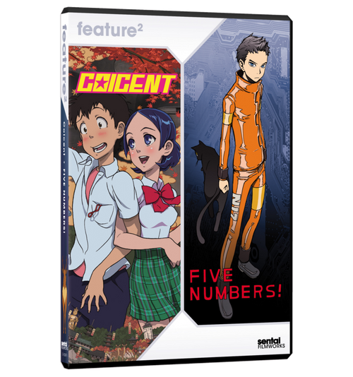Coicent / Five Numbers Double Feature DVD Front Cover