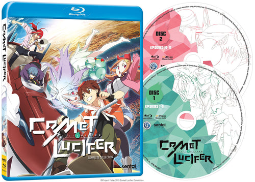 Comet Lucifer Complete Collection Blu-ray Disc Spread