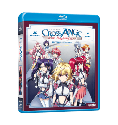 Cross Ange: Rondo of Angel and Dragon Complete Collection Blu-ray Front Cover