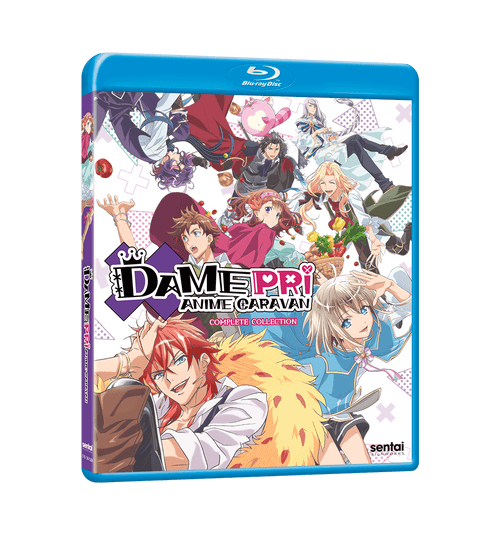DAMEPRI ANIME CARAVAN Complete Collection Blu-ray Front Cover