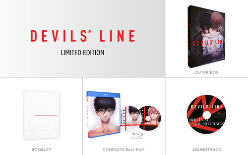 DEVILS' LINE Premium Box Set Contents