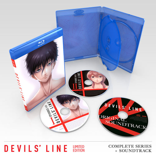 DEVILS' LINE Premium Box Set Blu-ray Disc Spread