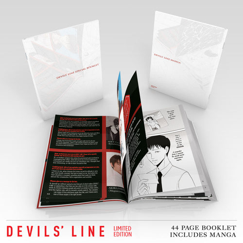 DEVILS' LINE Premium Box Set Booklet